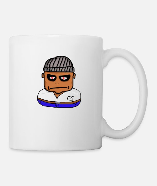 Gang Mugs & Drinkware - gangster - Mug white