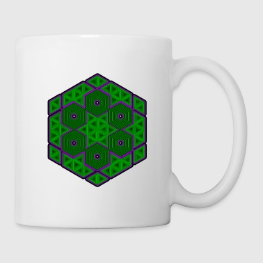 Geometry Hexagon - Tattoo - Mandala - Goa - Mug