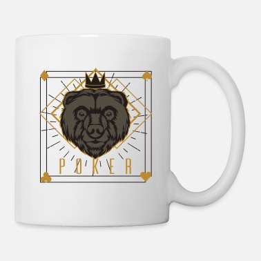Holdem Poker King Lion Gift Holdem Naipes - Taza