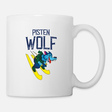 Slope Skiing on slopes - Mug