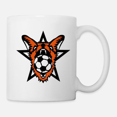 Ruse foot renard ruse football animal ballon - Mug