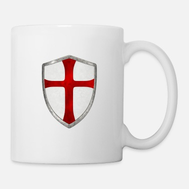 Crusade crusader cross templar shield crusade - Mug