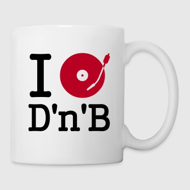 I dj / play / listen to drum and bass - Kubek