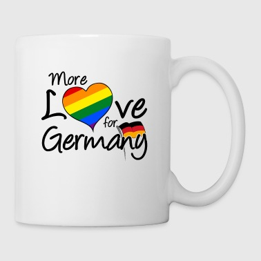 Heirat More Love for Germany homo gay LGBT Geschenk - Tasse
