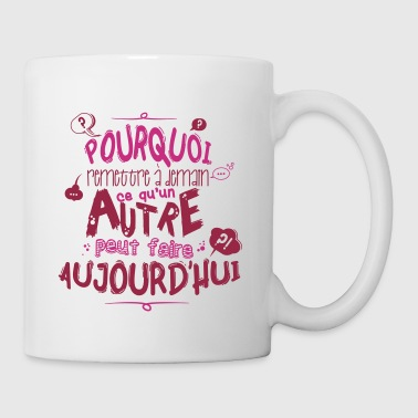 Citation de fonctionnaire - Mug blanc