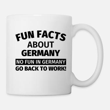Fun Fun Facts about Germany - Tasse