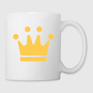 Crown Winner King Queen Princess - Mug blanc