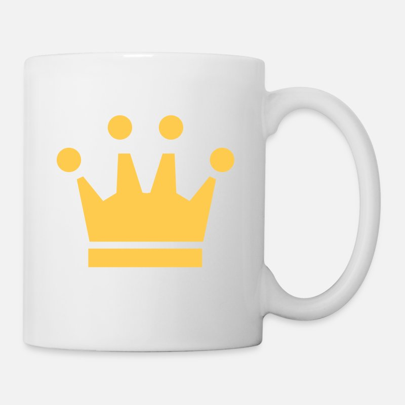 Anniversaire Mugs et récipients - Crown Winner King Queen Princess - Mug blanc