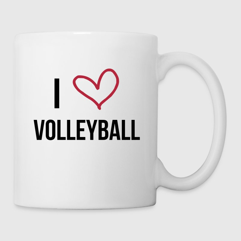 I Love Volleyball - Taza