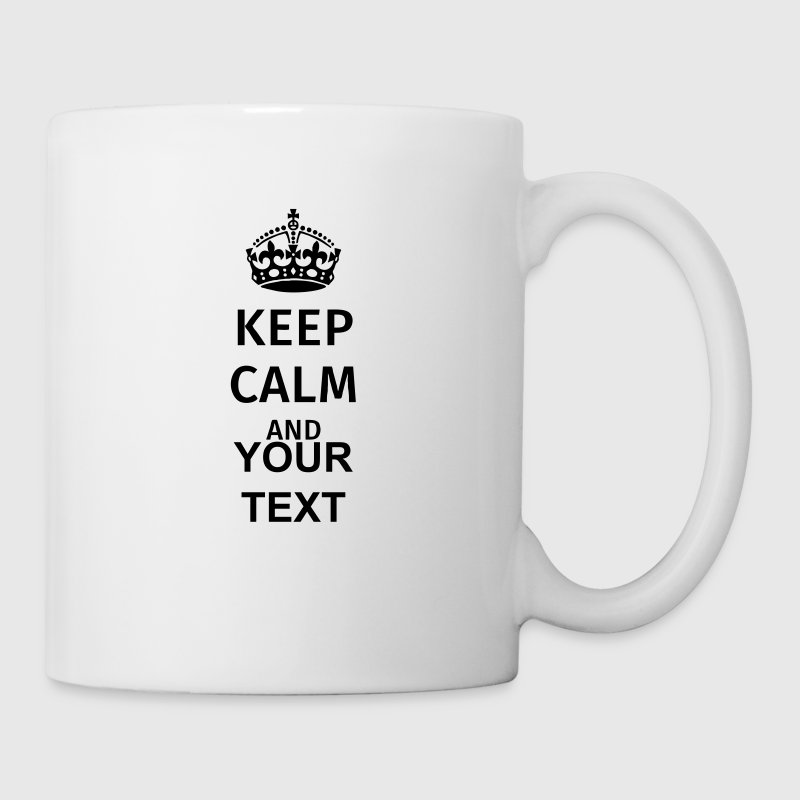 Keep Calm - Tasse
