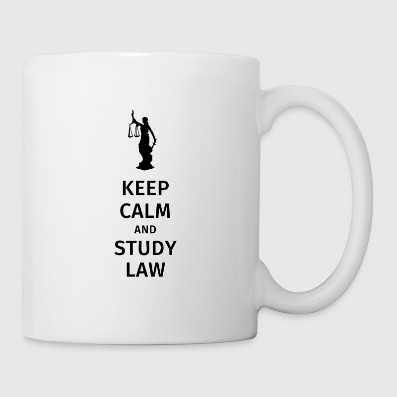 keep calm and study law - Tasse