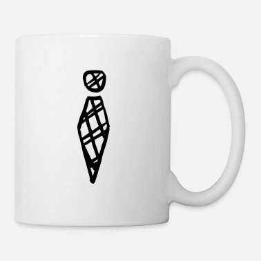 Carreaux Cravate à carreaux / cravate à carreaux / à carreaux - cadeau - Mug