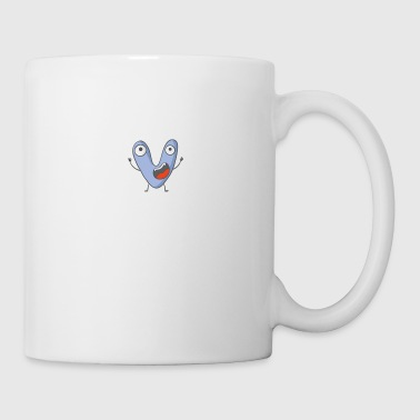 Cool monster letter V - Mug