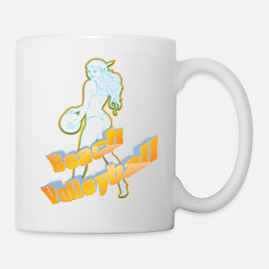 Beach Volley Beach-volley - Mug blanc
