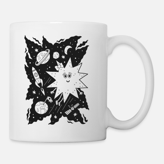 Collection Mugs & Drinkware - Stella star for coloring - Mug white