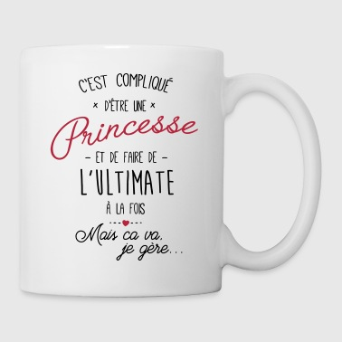 princesse et Ultimate - Mug blanc