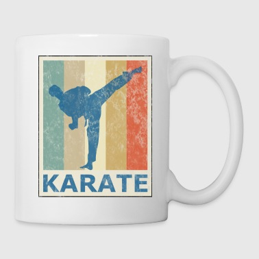 Retro Vintage Style Karate Martial Arts - Mugg