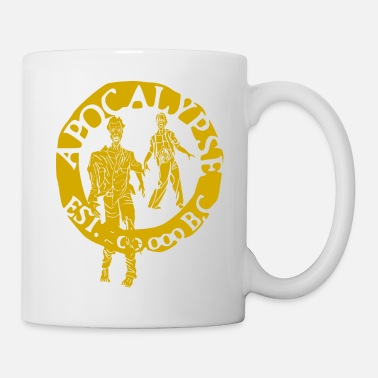 Tlc zombies gold - Mug blanc