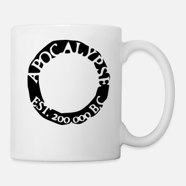 Sangriento zombies black white - Taza