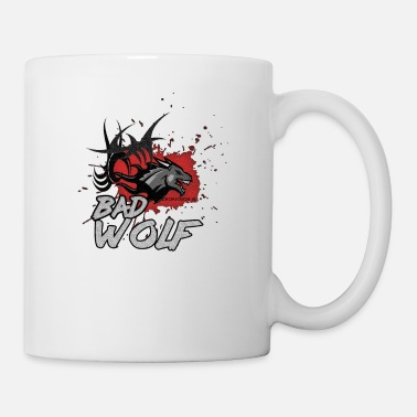 Word Wolf motif of Dropzodon ® - Mug