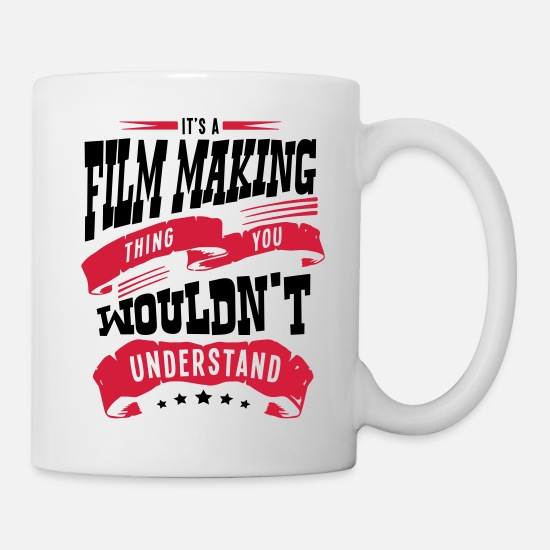 Making Love Mugs & Drinkware - its a film making thing you wouldnt unde - Mug white