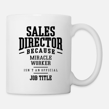 Commercial Sales Director Gift Funny Job Titre - Mug