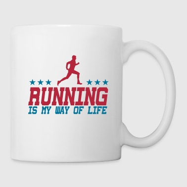 Joggen running is my way of life male 2c - Mok