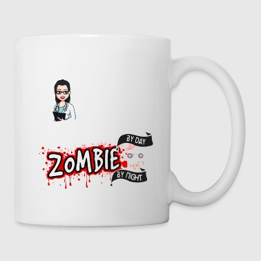 Female Doctor - Zombie by night - Mug