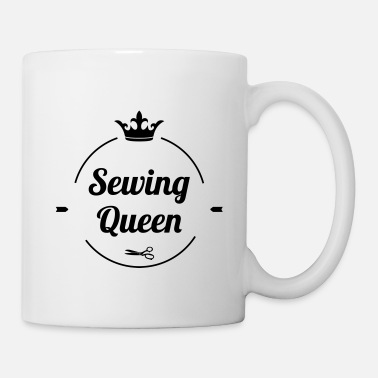 Luxus Sewing Queen - Tasse