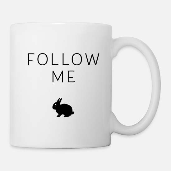 Serenity Mugs & Drinkware - Follow me - Mug white