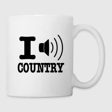 I music country / I love country - Tazza