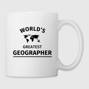 World's Greatest Geographer - Mug blanc