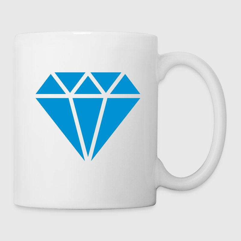 Diamante, triángulo, symbolo, diamond, for ever - Taza