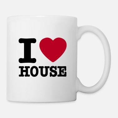 House I love house / I heart house - Tazza
