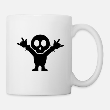 Heavy Metal Heavy Metal Fan with rocking Fingers Fork - Tasse