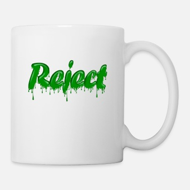 Gloopy Writing Green Gloop Reject - Mug