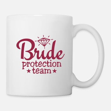 Hen Night bride protection team 1c / bride security - Mug