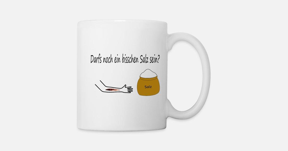 Böse Büro Sprüche Salz Wunde Mobbing Tasse Spreadshirt