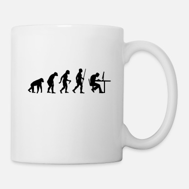 Informatique Geek Evolution - Mug blanc
