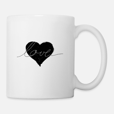 love and heart - Mug