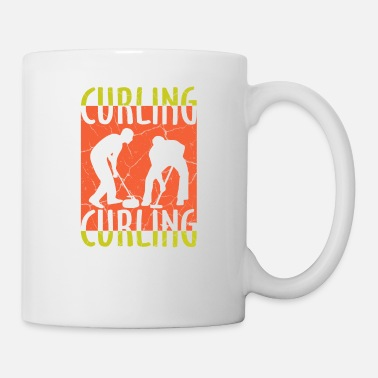 Curling curling gift winter sports - Mug