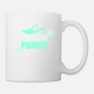 Fier fourrure cosplay renard anthrocon loup - Mug