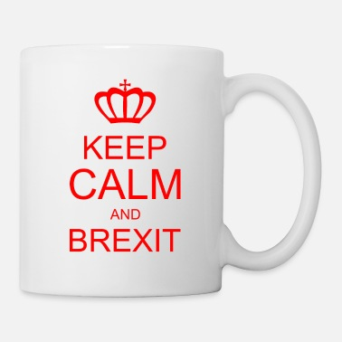 Keep Calm Crown KEEP CALM ja BREXITE - Muki