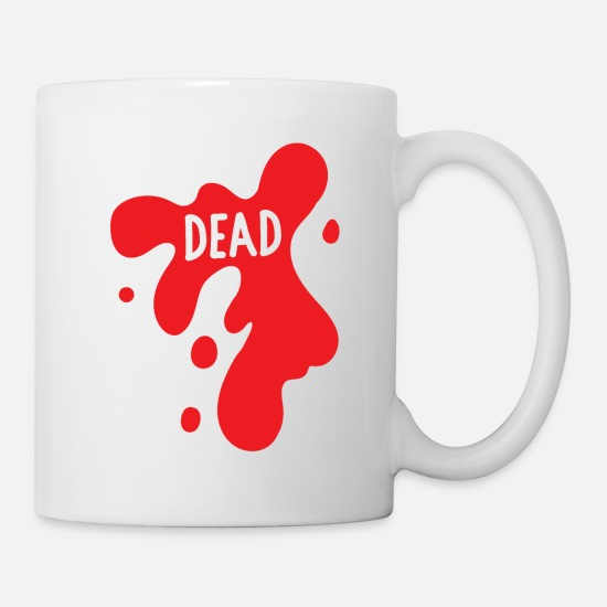 Death Mugs & Drinkware - Death Halloween - Mug white