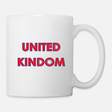Manchester United Kingdom - Great Britain in national colors - Mug