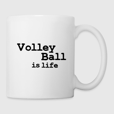 volleyball is life - Tazza