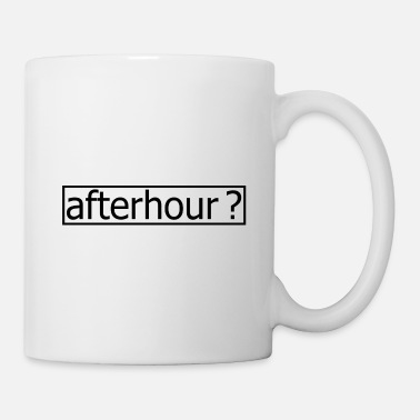 Techno Music Techno - Techno music - afterhour - Tasse