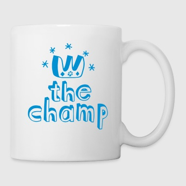 Cool The Champ t-shirts for sports soccer championship winner - Mug