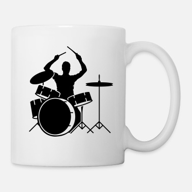 Drummer drummer and drums - Mug