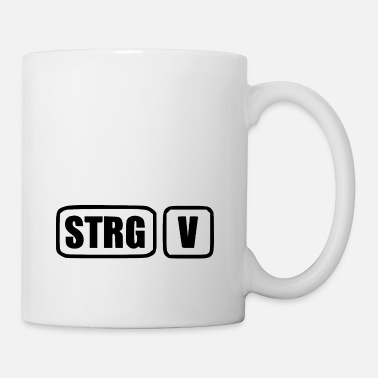 Windows [STRG] [V] [black] - Tasse